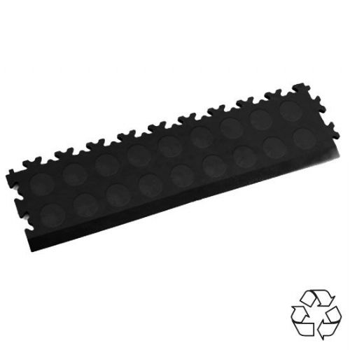 Black Recycled Cointop - Tile Edging PVC
